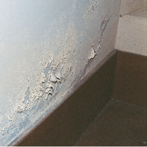 maling flasser eps fuktiskring elektroosmose